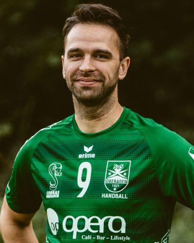 Alex Katsigiannis geht in sein drittes Trainerjahr bei den SuS-Handballern