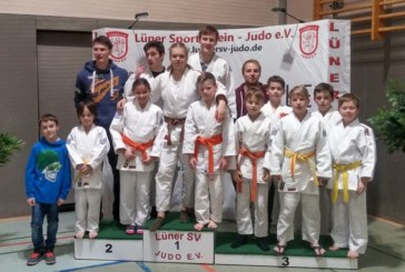 18 Judoka des JC Holzwickede kämpfen im Lünen bei den Kreiseinzelmeisterschaften