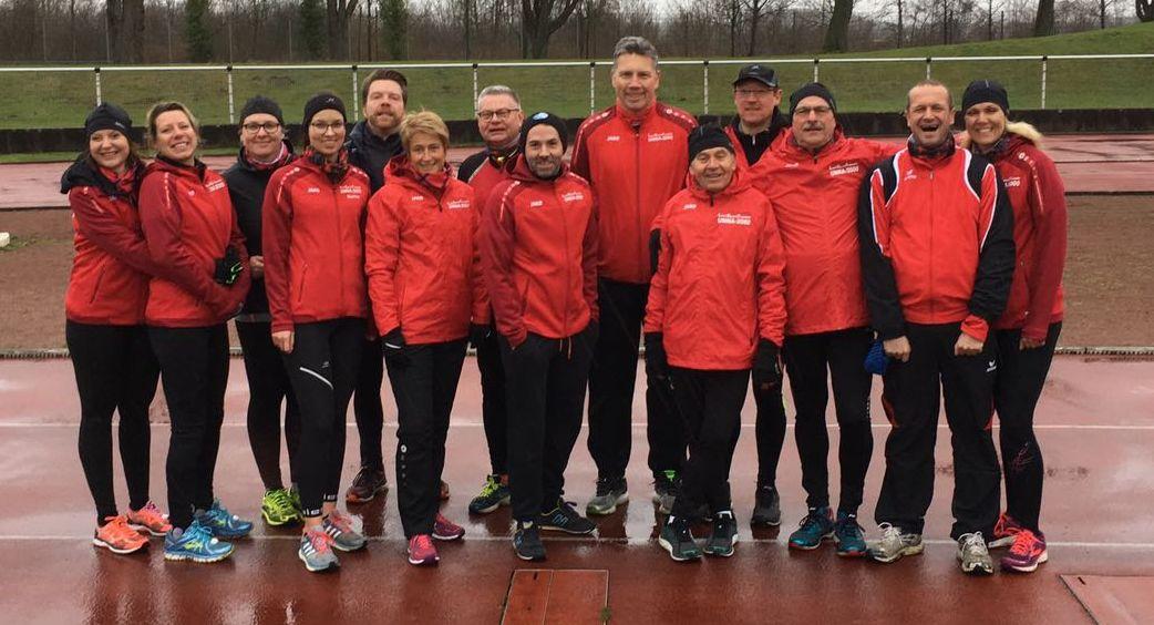 Laufsportfreunde Unna mit gelungener Fortsetzung der Hammer Winterlaufserie