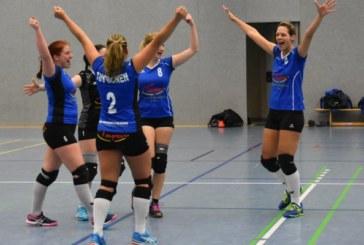 KSV-Volleyballer stehen vor dem Meisterstück