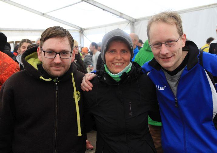 Lauf Team Unna mit acht Teilnehmern beim zweiten Lauf der Hammer Winterlaufserie vertreten