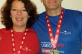 Lissabon-Halbmarathon für Susanne Götz und Thomas Eder kein frühlingshafter Lauf