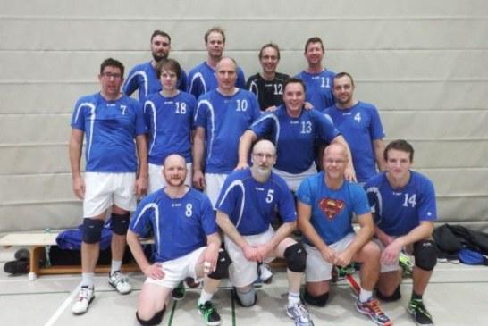 KSV-Volleyballer bejubeln Rückkehr in die Verbandsliga