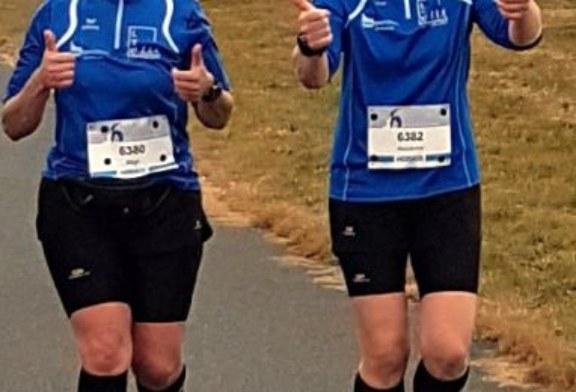 Münsteraner 6-Stundenlauf Ziel vom Lauf Team Unna