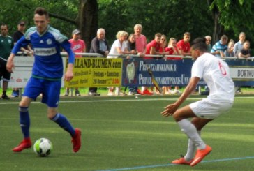 Nils Hoppes Kopfballtor sichert Holzwickede ein Unentschieden in Brackel
