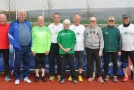 Erfolgreiches Trainingslager der Werfer-Oldies des SuS Oberaden – Drei neue Vereinsrekorde nach Intensivtraining
