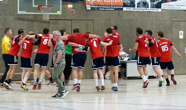 Handball-Bezirksliga: HCH gewinnt Kamener Stadtduell – Dellwig gibt Rote Laterne wieder ab