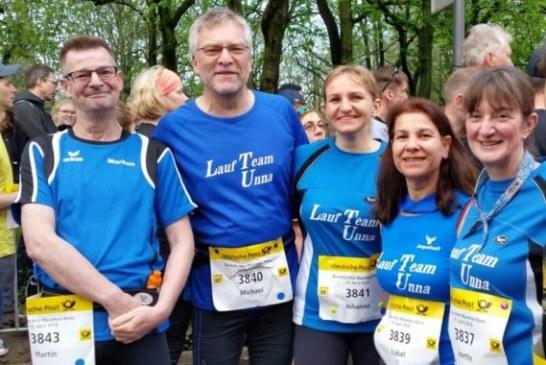 Lauf Team Unna mit Staffel- und Halbmarathon-Erlebnissen in Bonn