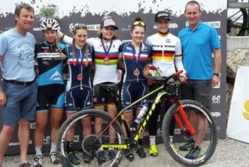 Franzi Koch bleibt weiter in der Weltspitze des Mountainbike