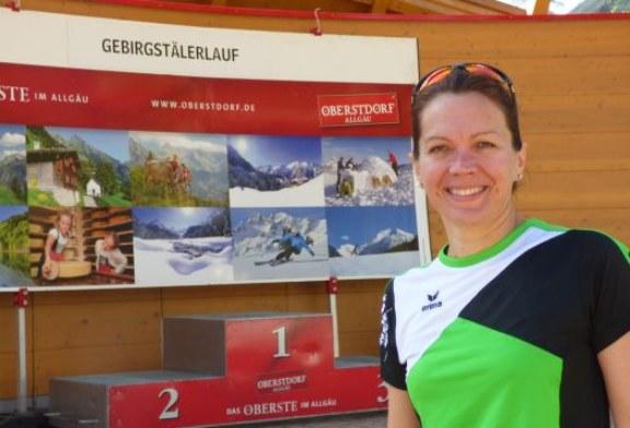 "Iris Hohmeyer ""meistert"" Oberstdorfer Gebirgstälerlauf"