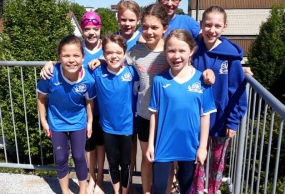 SVK-Nachwuchs beim Jugendschwimmfest in Methler vertreten