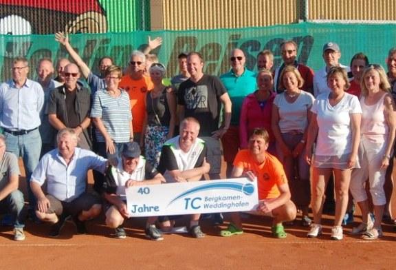 Nur strahlende Gesichter bei der Seniors Trophy des TC Bergkamen Weddinghofen