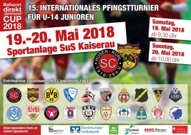 SuS Kaiserau und SC Husen-Kurl ziehen internationales U14 Pfingstturnier erstmals gemeinsam auf