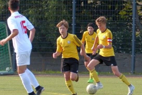 Mühlhausener A-Junioren Derbysieger gegen Kaiserau