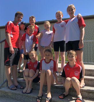 Wasserfreunde schwimmen erfolgreich in Kamen