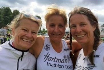 Hartman-Triathlon-Team beim Triathlon in Steinbeck stark vertreten