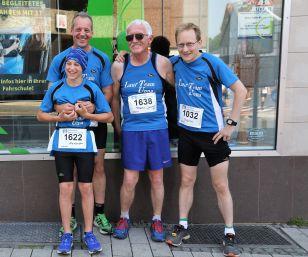 Triathlon und Bergläufe mit LTU-Sportlern