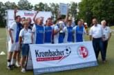 TuS Jöllenbeck (Ü32) und Lüner SV (Ü40) siegen beim Krombacher Westfalen Cup in Kaiserau