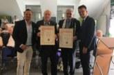 Hans Tilkowski und Hermann Hupe jetzt Ehrenmitglieder des SuS Kaiserau