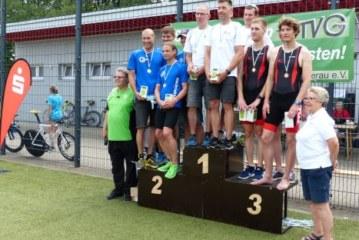 Rund 600 Ausdauersportler beim 34. Kamener Sparkassen-Triathlon am Start