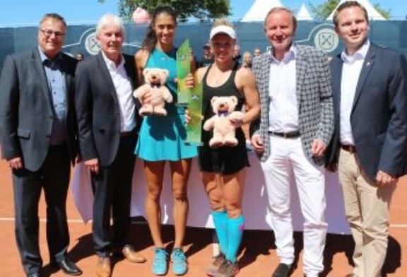Die 17-jährige Serbin Olga Danilovic Serbien gewinnt die Reinert Open