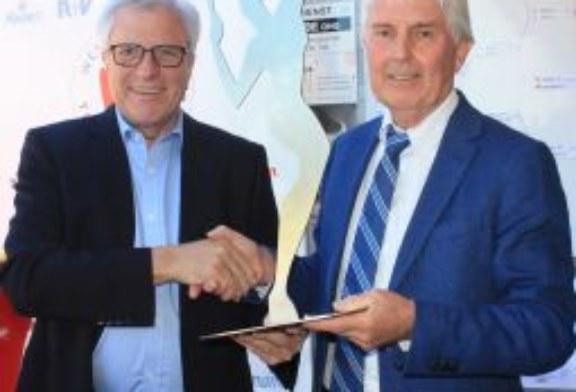 """Robert Hampe: """"Die Kamen Open wären ohne dich nicht möglich gewesen"""" – Bürgermeister Hermann Hupe verabschiedet"""