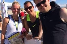 VfLer suchen Triathlon-Herausforderung am Nordseestrand
