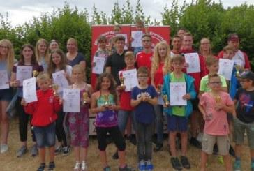 Wasserfreunde ehren ihre Vereinsmeister