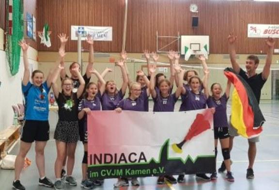 Weibliche U 15 des CVJM Kamen holt Bronze beim Jugend-Worldcup