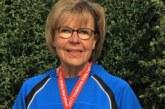 Monika Bonin läuft in Malaga zu WM-Silber