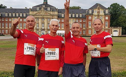 LWT Unna ebenfalls beim Staffellauf in Münster vertreten