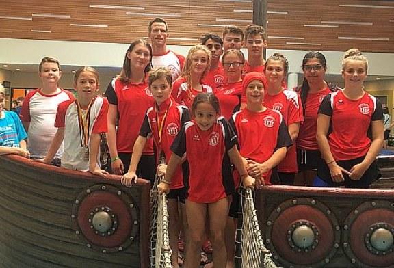 41 Medaillen für die Wasserfreunde in Lippstadt