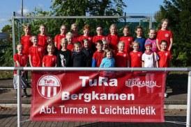 Saisonabschluss der TuRa-Leichtathleten