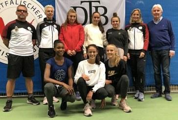 Tennis-Bundesstützpunkt Kamen jetzt offiziell als vierter DTB-Standort anerkannt