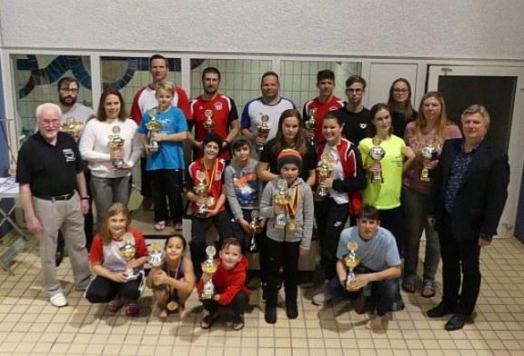 Wasserfreunde wieder sehr erfolgreich bei Stadtmeisterschaften