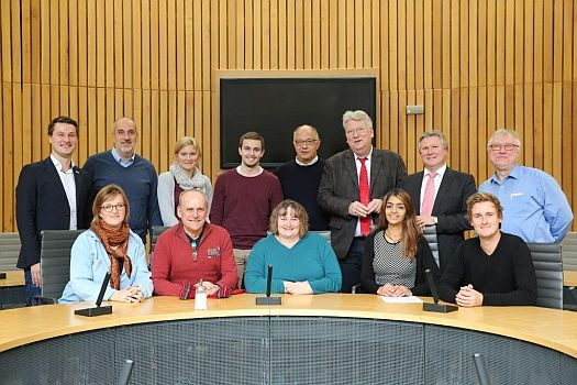 Spannender Besuch des KreisSportBundes Unna e.V. im Landtag