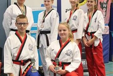 Goldregen für Kamener Taekwondos