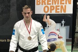 Platz drei für Fabian Langer beim internationalen Judo-Turnier Bremen Open 2018