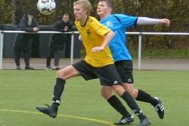 Heimische A-Junioren können weiter in der Bezirksliga bestehen