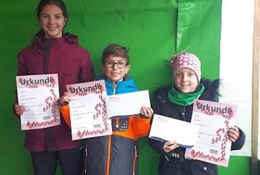 SuS-Nachwuchs mit vorderen Plätzen beim Hammer Nikolauslauf
