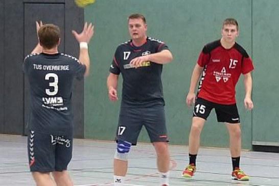 Handball-Bezirksliga: TuS Overberge gewinnt das Vier-Punkte-Spiel gegen Ahlen III