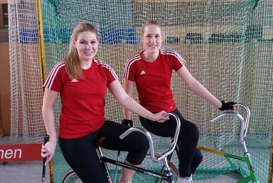 Lisa Schelkmann und Samantha Thomas im Deutschlandpokal erfolgreich