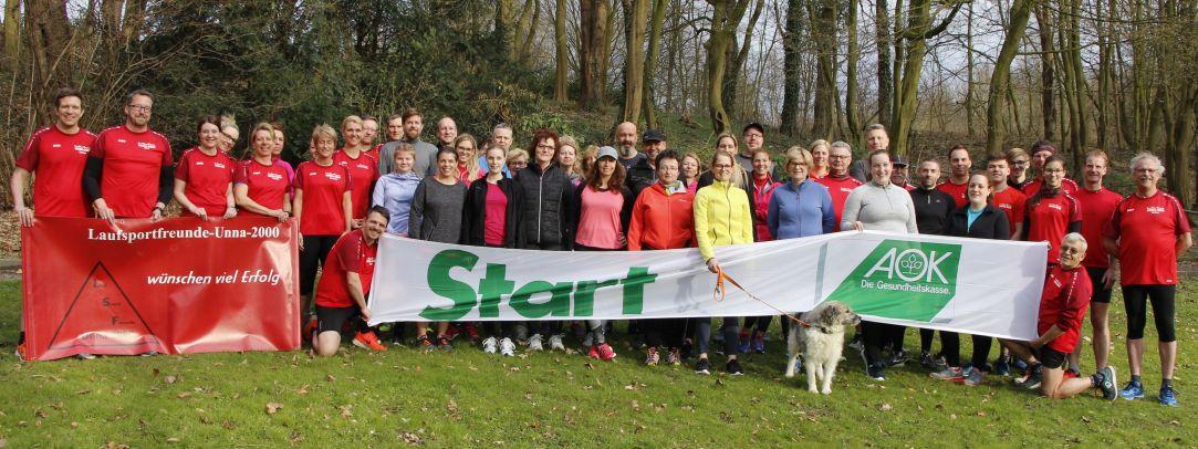 Laufsportfreunde Unna bieten wieder einen Vorbereitungskurszum diesjährigen Unnaer Firmenlauf an