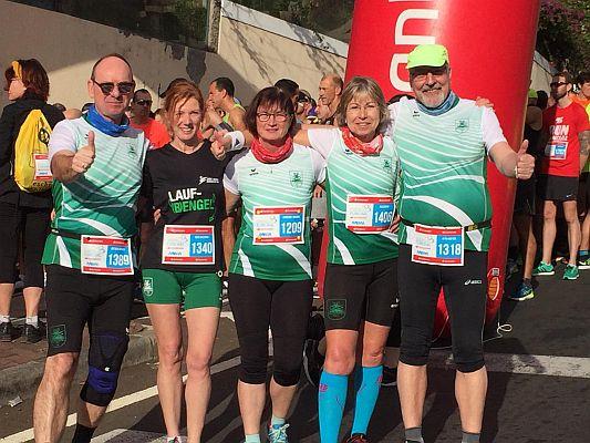 SuS-Läufer starten auf Madeira