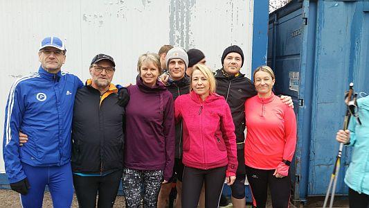 Sportlicher Jahresabschluss für die Walker und Läufer des TLV Rünthe