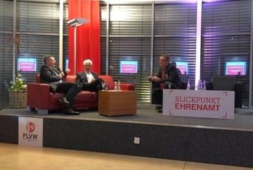 DFB-Präsident Reinhard Grindel beim Jahresempfang des FLVW in Kaiserau – Blickpunkt Ehrenamt