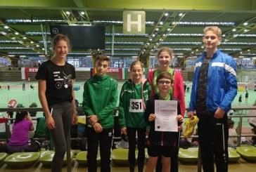 SuS Leichtathleten beim Hallensportfest des Kreises Dortmund