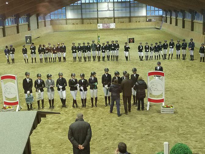 Dreifach-Erfolg des RFV St. Georg Werne bei der Kreismeisterschaft der Jungen Reiter in Fröndenberg