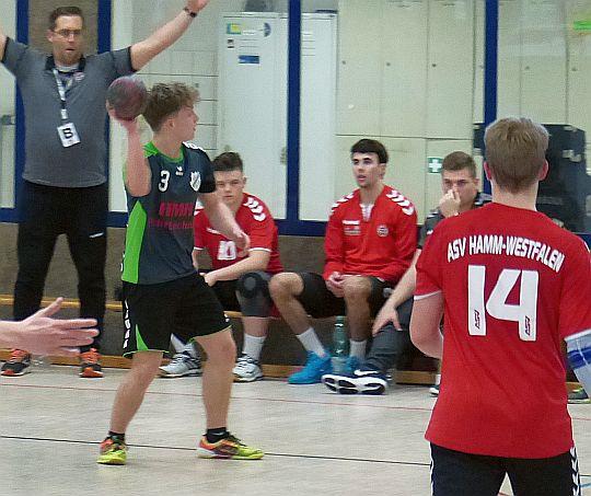 Heerener B-Jugend hält sich gut gegen Tabellenführer Hamm