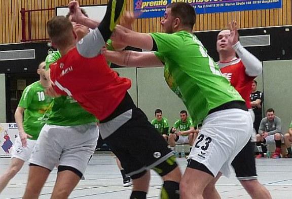 Handball-Bezirksliga: SuS Oberaden II gewinnt haushoch das Stadtduell – VfL Kamen glückt Revanche